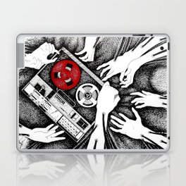 Grabbing Music Laptop & iPad Skin