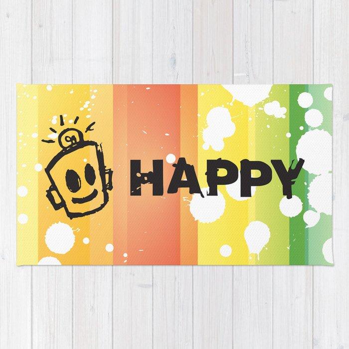 HAPPY  Rug