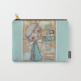 A Little Love Carry-All Pouch
