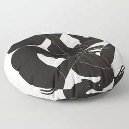 The Helping Hand Floor Pillow