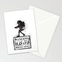 Dancing With The Hood TILL The Body Breaks Down. Stationery Cards