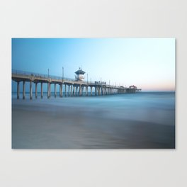 Ocean Stilts Canvas Print