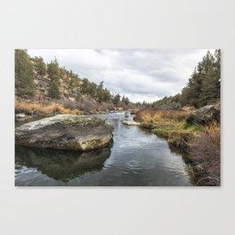 Deschutes River at Eagle Crest Canvas Print