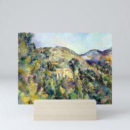 Paul Cezanne View of the Domaine Saint-Joseph Mini Art Print