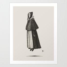 Witch Sister II Art Print