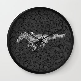 Homage to Munstag Wall Clock