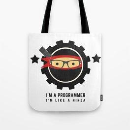 Programmer - Ninja Programmer Tote Bag