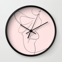 bisou Wall Clock
