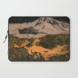 serene volcano Laptop Sleeve