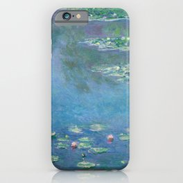 Water Lilies (1840-1926) by Claude Monet iPhone Case