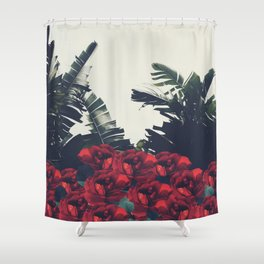 Red-Passion of Nature Shower Curtain