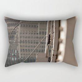 Geometric City Rectangular Pillow