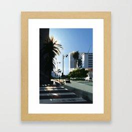La Brea Framed Art Print