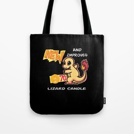New & Improved- Lizard Candle Tote Bag