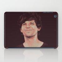 louis tomlinson iPad Cases featuring Louis (Sunshine) Tomlinson by crystaltaysm