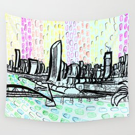 Brisbane Series #14 Wall Tapestry