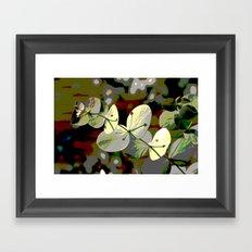 Bright Leaf Framed Art Print