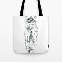 Wild Racoon Tote Bag