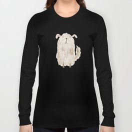 Fluffy Dog Long Sleeve T-shirt