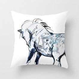 Horse (Siwa) Throw Pillow