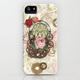 Romantic Steampunk iPhone Case