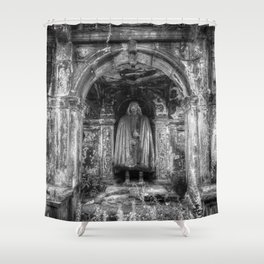 The Tomb Watchman Shower Curtain