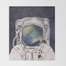Dreaming Of Space Throw Blanket
