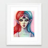 third eye Framed Art Prints featuring Third Eye by Mary Nason (MiaSnow)
