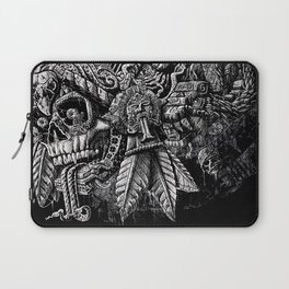 Aztec Great Lizard Warrior 1 (Triceratops) Laptop Sleeve