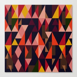 Vintage vibes_in warm hues Canvas Print