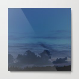 In the blue of the night Metal Print