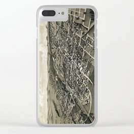 Greenville - Texas - 1886 Clear iPhone Case