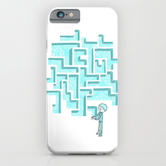 Finish it later iPhone & iPod Case