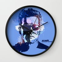 terminator Wall Clocks featuring Terminator by BIG Colours
