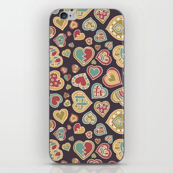 I Heart Doodling iPhone & iPod Skin