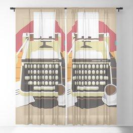 Writer Sheer Curtain