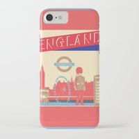 london iPhone & iPod Cases featuring LONDON by famenxt