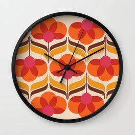Trillium Wall Clock