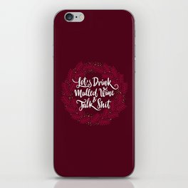 Mulled Wine iPhone Skin