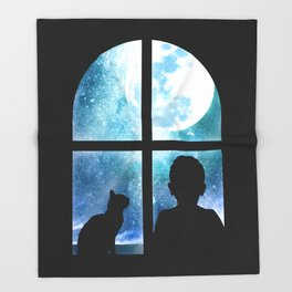 A Loyal Companion Throw Blanket
