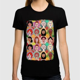 the colors of women T-shirt