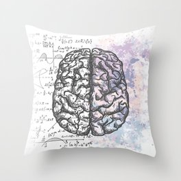 Pastel thoughts... Throw Pillow