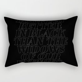 Only The Non-Mundanes of You Will See It Rectangular Pillow