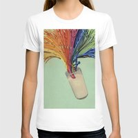 milk T-shirts featuring Milk by fotos de almanaque