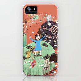 Amazing little girl iPhone Case