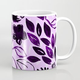 Fight in Floral Coffee Mug