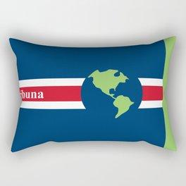 #Tribuna Costa Rica y el mundo Rectangular Pillow