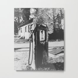 Fuel Pump Metal Print