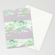 Toile de Africa 2 Stationery Cards
