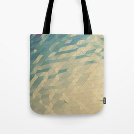 Only Colored Triangles Tote Bag